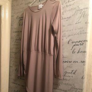 Light, flirty cocktail dress-slight wrap dress